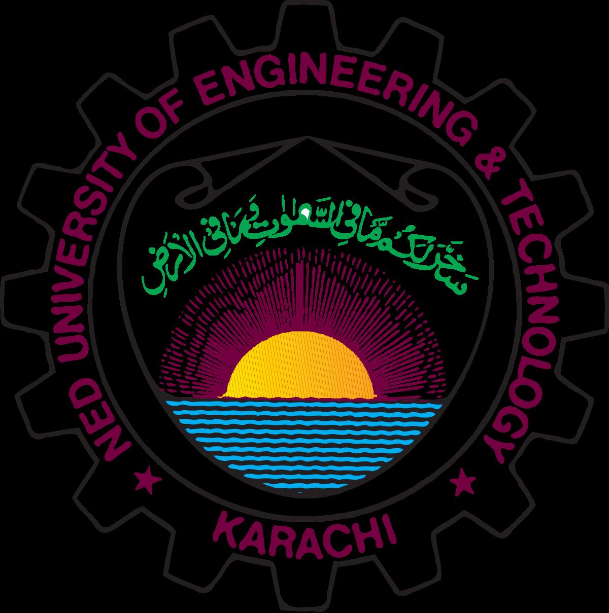 NED University of Engineering & Technology Admission Ads