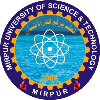 Mirpur University Of Science & Technology Logo