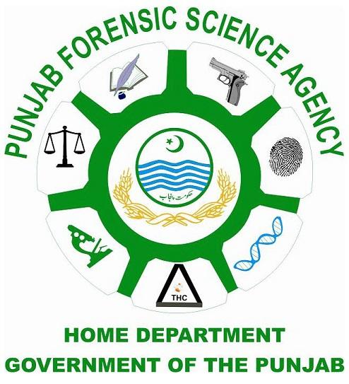 Punjab Forensic Science Agency Logo