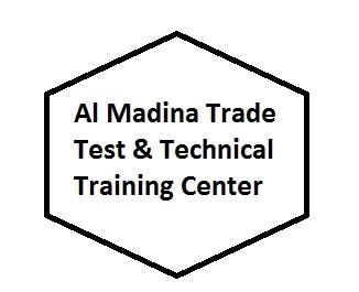 Al MAdina Trade Test & Technical Training Center Logo