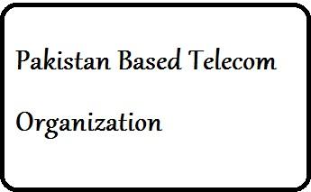 Pakistan Based Telecom Organization Logo