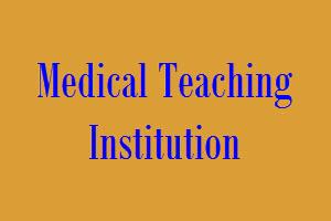 Medical Teaching Institution Logo