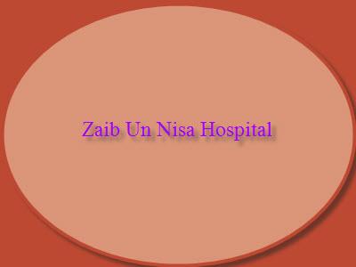 Zaib Un Nisa Hospital Logo