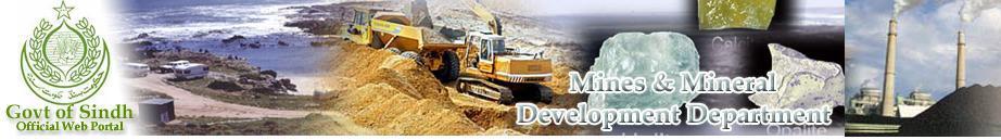 Mines & Mineral Development Department Logo