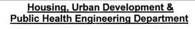 Housing Urban Development & Public Health Engineering Department Logo